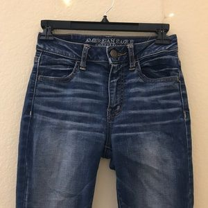 American Eagle Outfitters Jeans - American Eagle High Rise Jeggings Dark Wash